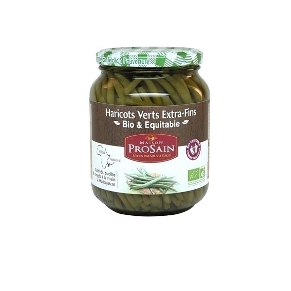 ProSain - Haricots verts extra-fins cueillis et ranges a la main 660g