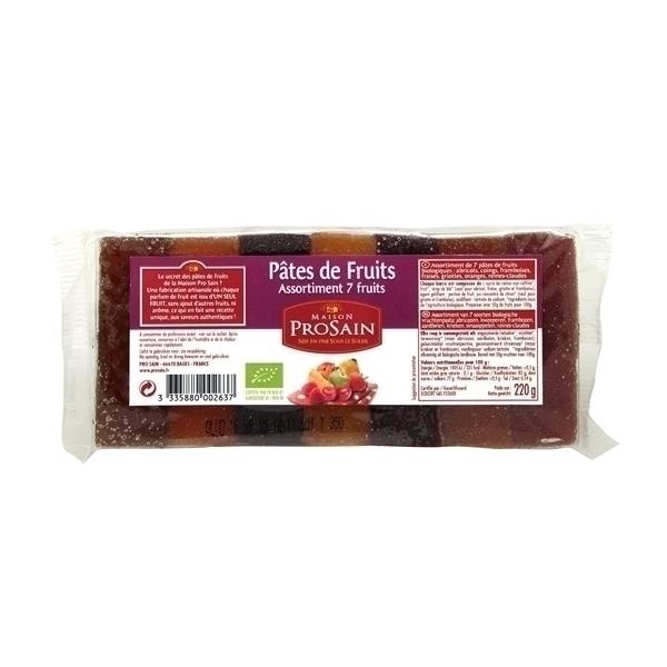 ProSain - 7 Pates de Fruits Assorties