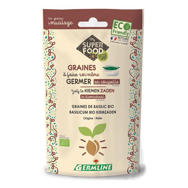Germ'line - Graines à germer basilic 100g