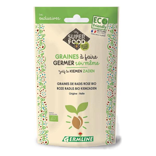 Germ'line - Graines à Germer Bio RADIS ROSE 100g
