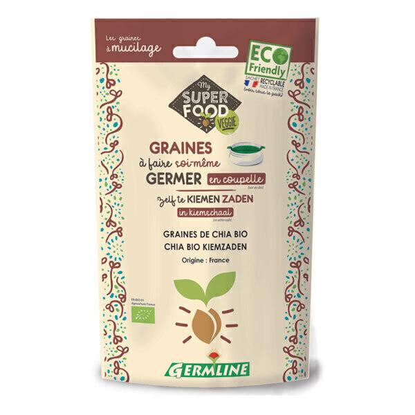 Germ'line - Graines à germer chia Bio 100g