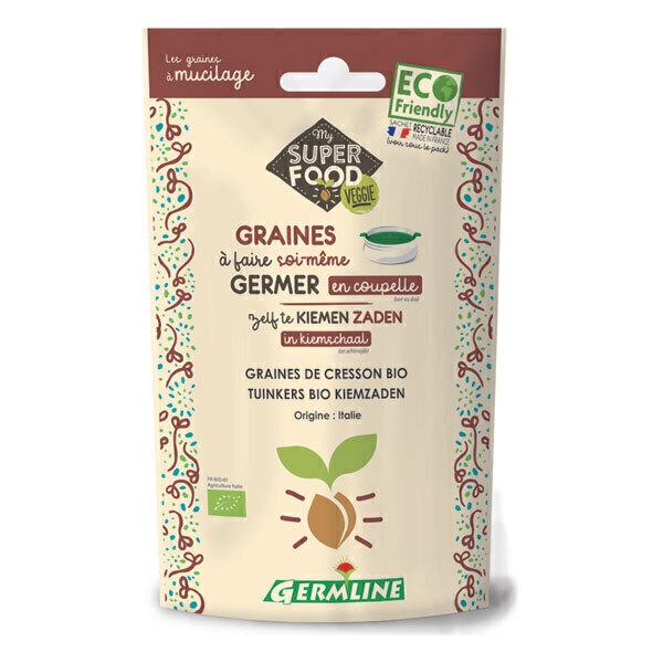 Germ'line - Graines à germer cresson 100g