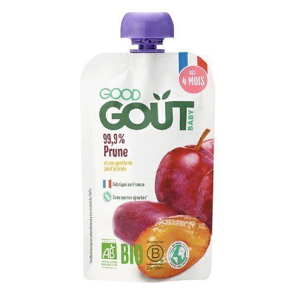 Good Gout - Gourde prune 120g - Dès 4 mois