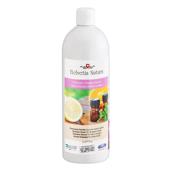 Helvetia Natura - Shampoing-douche patchouli 1L