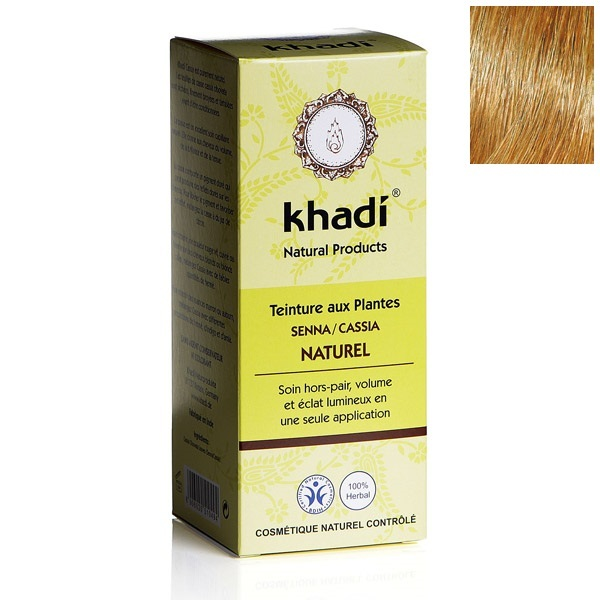 khadi coloration vgtale senna cassia naturel loading zoom - Coloration Khadi