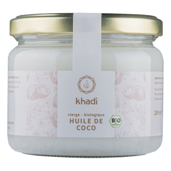 Khadi - Huile de coco extra-vierge 250g