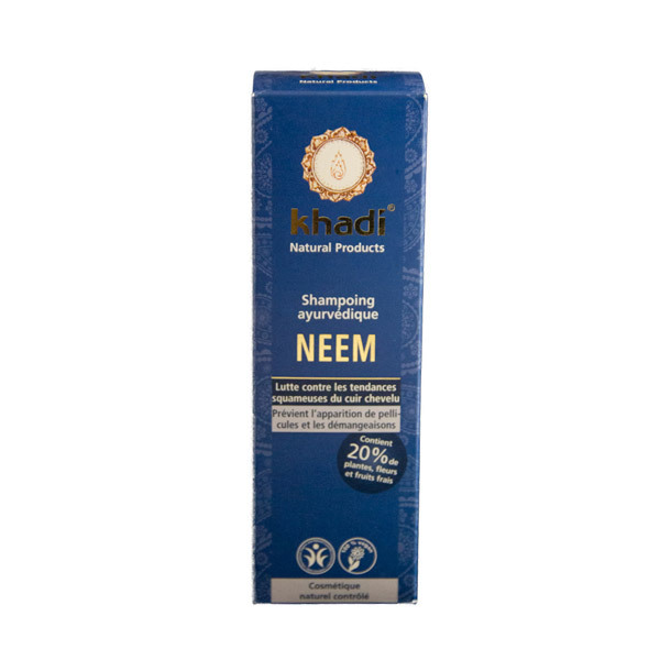 Khadi - Shampooing ayurvédique Neem 210ml
