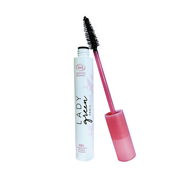 Lady Green - Mascara soin volume bio Noir 9ml