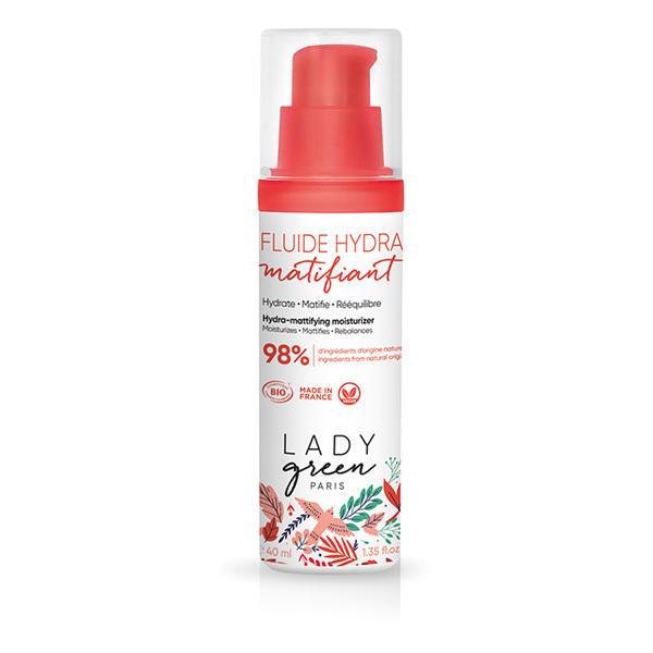 Lady Green - Fluide hydra matifiant 40ml