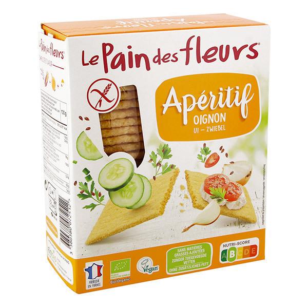 Le pain des fleurs - Tartines craquantes à l'oignon - 150g