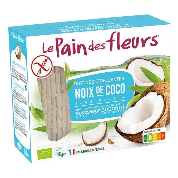 Le pain des fleurs - Tartines craquantes à la coco - 150g