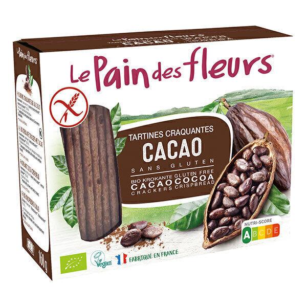 Le pain des fleurs - Tartines craquantes au cacao - 160g