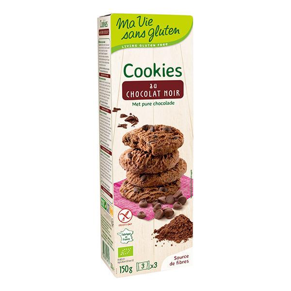 Ma Vie Sans Gluten - Cookies au chocolat noir 150g