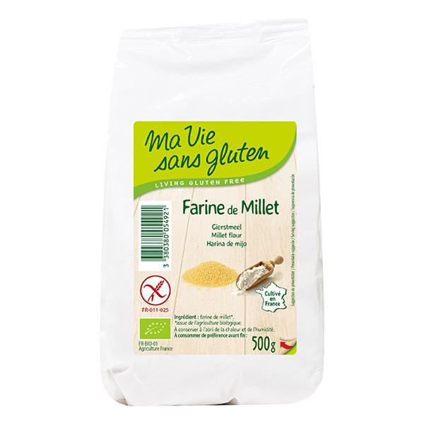 Ma Vie Sans Gluten - Farine de millet jaune 500g