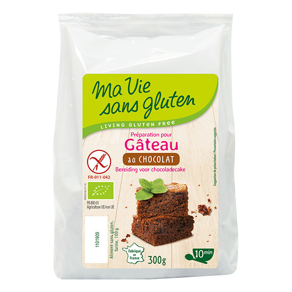 Ma Vie Sans Gluten - Préparation Gâteau au chocolat 300g