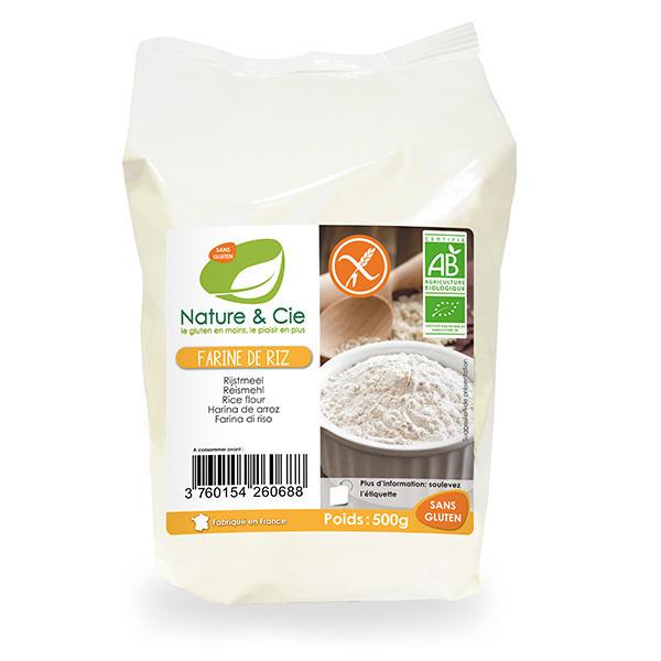 Nature & Cie - Farine de riz 500g