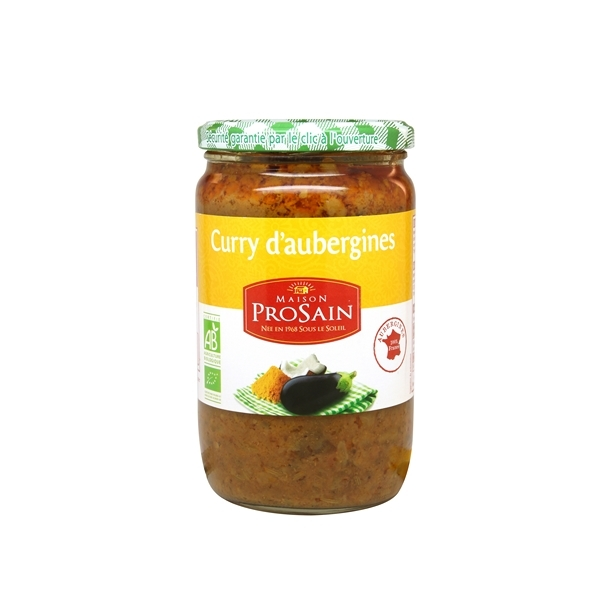 ProSain - Auberginen-Curry - 650 g