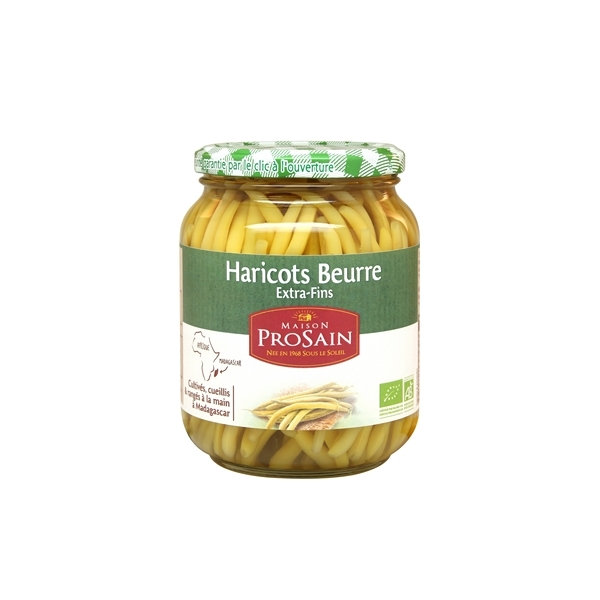 ProSain - Haricots beurre extra-fins cueillis et rangés à la main