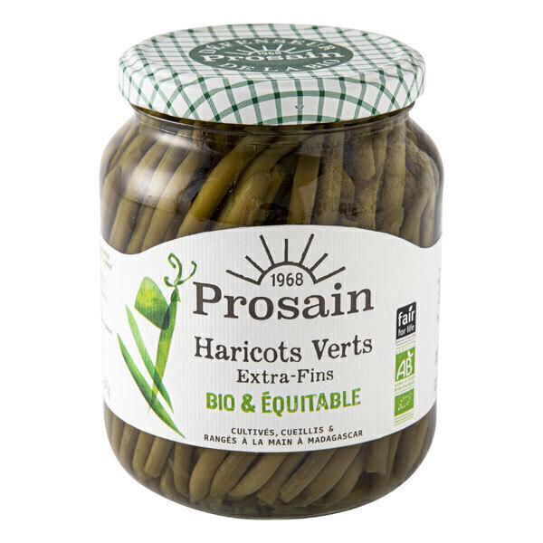 ProSain - Haricots verts extra-fins cueillis et rangés à la main 660g