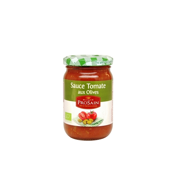 ProSain - Sauce Tomate aux Olives BIO - 200g