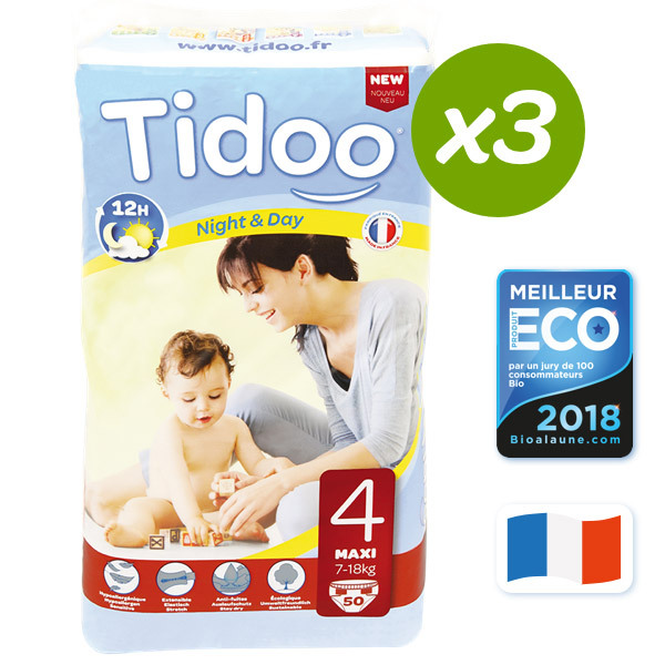 Tidoo - 3er Pack T4 Maxi 7-18kg
