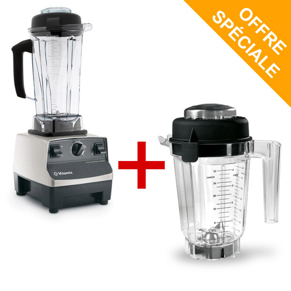 mixeur blender vitamix 5200 inox bol tritan 0 9l. Black Bedroom Furniture Sets. Home Design Ideas