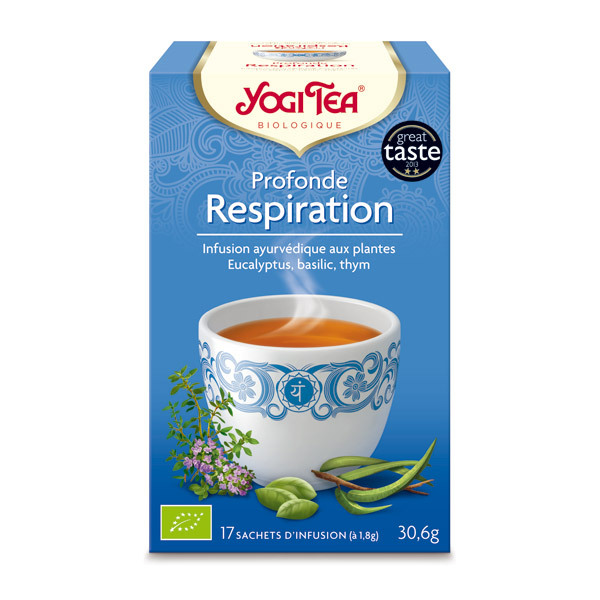 Yogi Tea - Infusion profonde respiration - 17 sachets