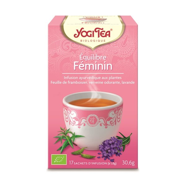 Yogi Tea - Infusion équilibre féminin - 17 sachets