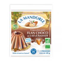 La Mandorle - Almond Milk Chocolate Flan Mixture - 65g