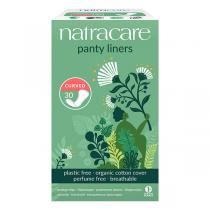 Natracare - Organic Curved Panty Liners 30 Pack