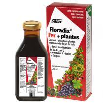 Salus Floradix - Tonique Floradix Fer + plantes 250mL