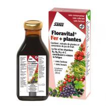 Salus Floradix - Tonique Floravital Fer + plantes 250mL