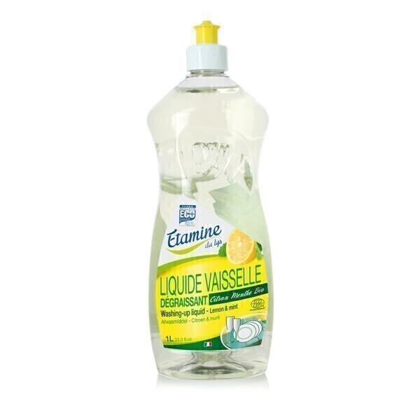 Etamine du Lys - Liquide vaisselle citron-menthe 1L