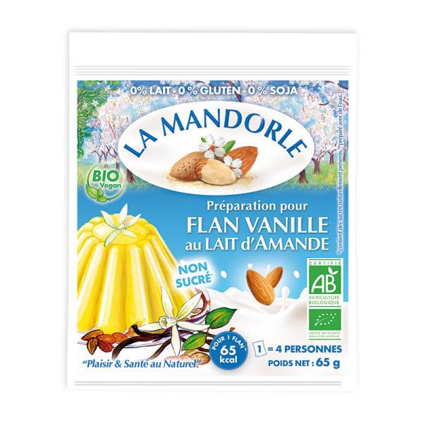 La Mandorle - Almond Milk Vanilla Flan Mixture - 65g