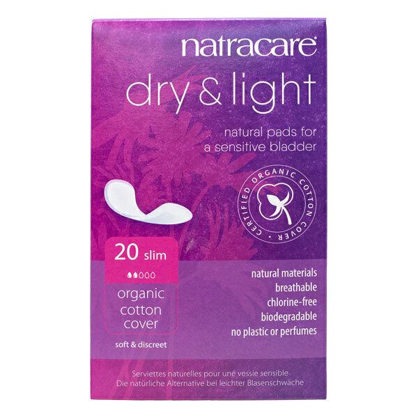 Natracare - Serviettes hygiéniques incontinences x 20