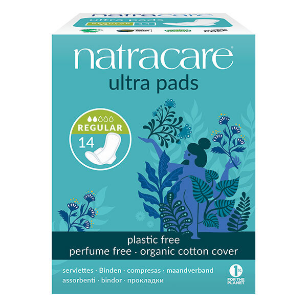 Natracare - Serviettes ultra normal avec ailettes x14