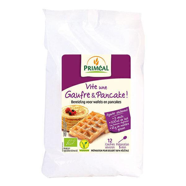 Priméal - Préparation Gaufre et pancake 400g
