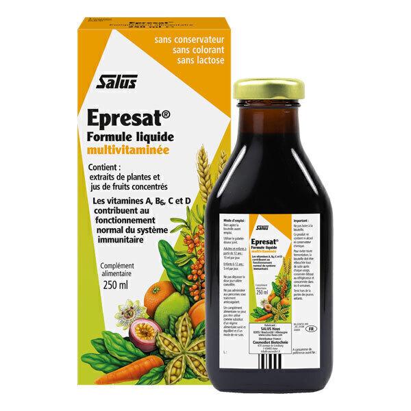 Salus - Epresat formule liquide Multivitaminée 250ml