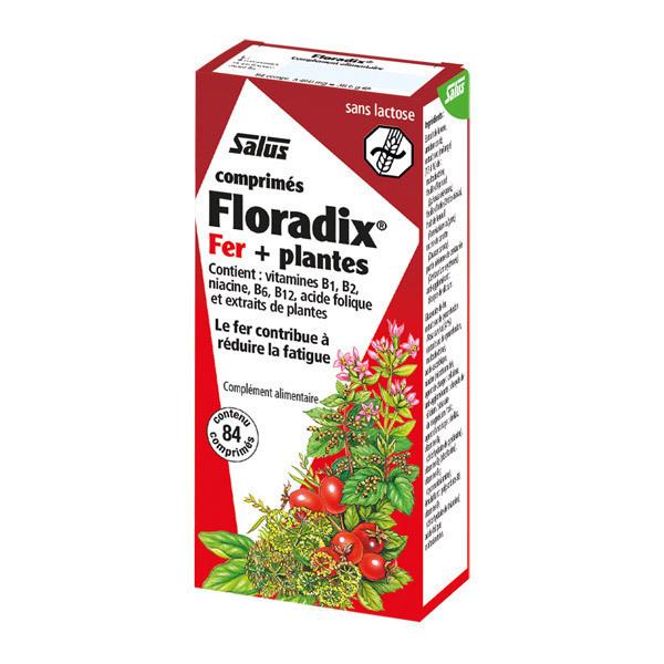 Floradix Fer + Plantes 84 comprimés Salus Floradix