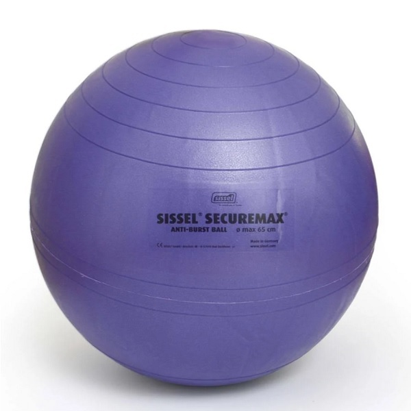 Sissel - Securemax Exercise Ball, 75 cm Blue-Purple