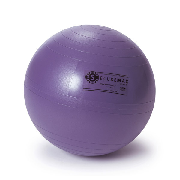 Sissel - Balón de ejercicios Lila 75 cm