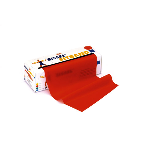 Sissel - Banda elastica Fitband 5m Rosso
