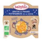 Babybio - Assiette Bonne Nuit Gratin de Légumes - 260g