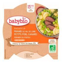 Babybio - Assiette panais petit pois canard - 260g