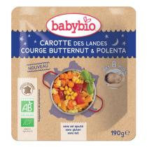 Babybio - Doypack B. Nuit Courge Butternut Polenta -190g