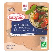 Babybio - Doypack bonne nuit ratatouille provençale riz - 190g