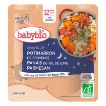 Babybio - Doypack bonne nuit risotto de potimarron - 190g