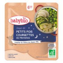 Babybio - Doypack soupe petits pois courgette 190g - Dès 6 mois