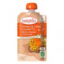 Babybio - Gourde Pomme de Terre Courgettes Veau - 120g