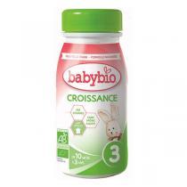 Babybio - Lait de croissance - 6 x 25cl